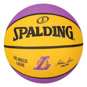 Pelota Spalding Team Lakers Los Angeles Lakers Nro. 7