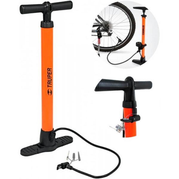 Inflador Truper Presión 100 Psi – Bicicleta Pelotas