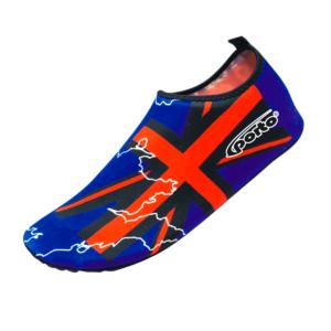 Aqua Shoes Porto Azul Rojo para Hombre