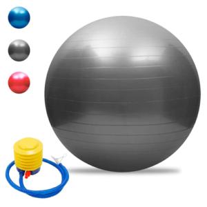 Pelota De Yoga 55 Cm Pilates Fitball Suiza + Inflador