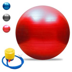 Pelota De Yoga 75 Cm Pilates Fitball Suiza + Inflador