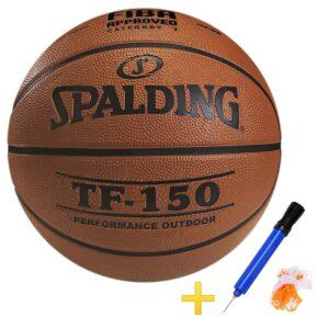 Pelota de Basquet Spalding Tf-150 FIBA + Inflador