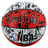 Pelota de Basket Spalding Graffiti NBA Rojo #7
