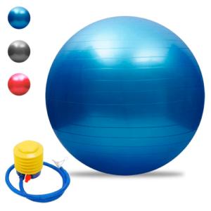 Pelota De Yoga 45 Cm Pilates Fitball Suiza + Inflador