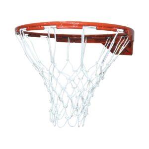 Aro Basket + Malla Para Basquet Basquetbol Medida Oficial
