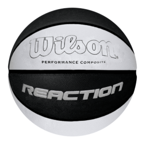 Pelota Basquet Wilson Reaction Nro. 7 – Negro/Gris