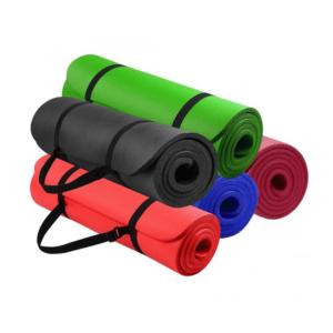Mat Yoga 15mm Pilates Fitness + Funda