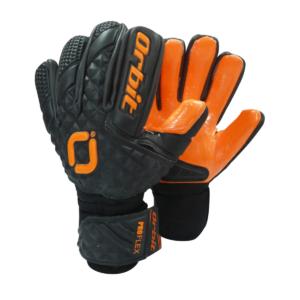 Guantes de Arquero Fútbol Pro Flex - Negro/Naranja