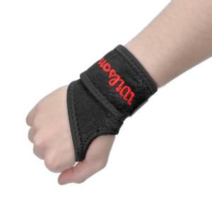 Soporte para Muñeca con Velcro Wilson - Negro